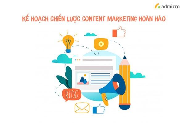 Xây dựng mẫu kế hoạch content marketing hiệu quả