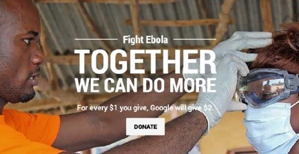 Bài PR mẫu của Google chống lại Ebola mang lại hiệu quả khá tích cực