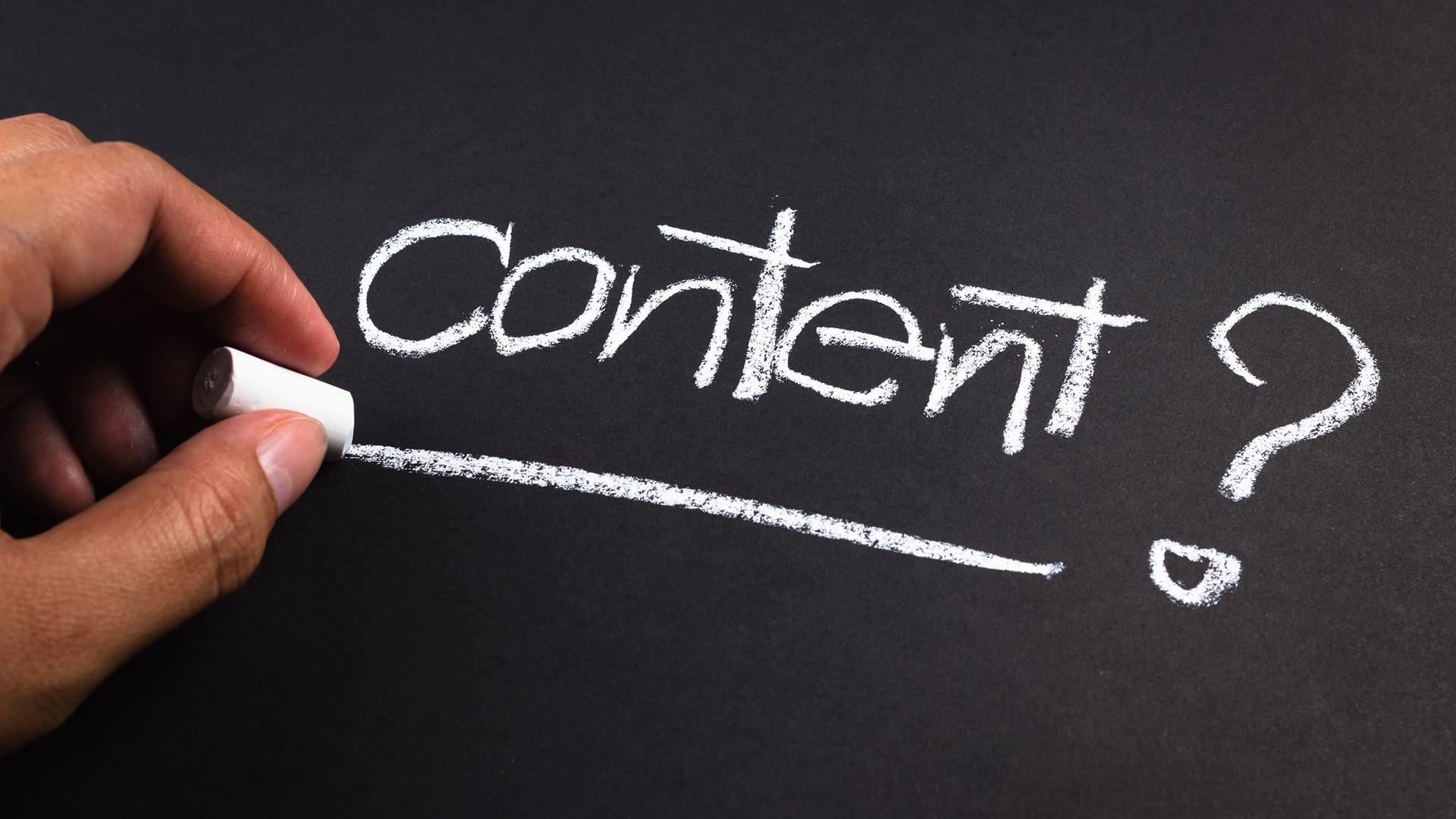 Content là một yếu tố rất quan trọng đối với thương mại điện tử hiện nay
