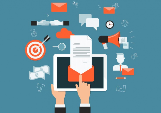 Email là một trong các loại content marketing hiệu quả cho các doanh nghiệp