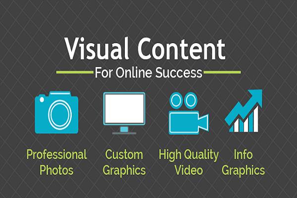 Các dạng visual content hiện nay