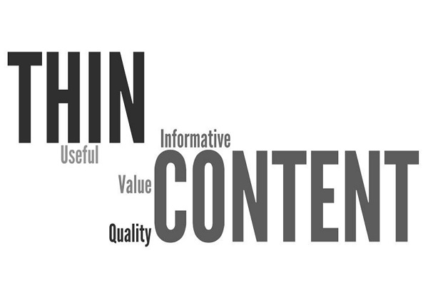 Không nên sử dụng content ngắn và chất lượng content thấp