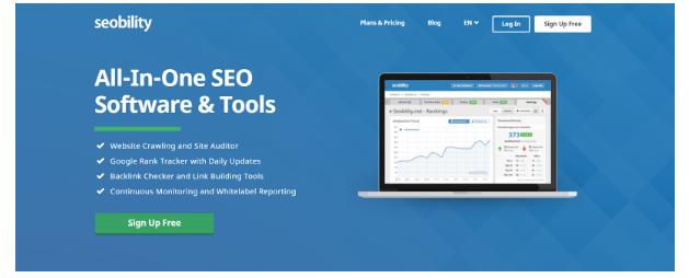 Sử dụng Seobility để Audit Seo