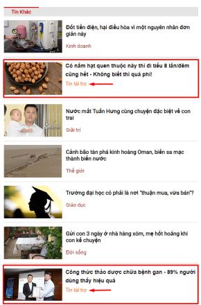 Ví dụ bài viết dạng in-feet-ads