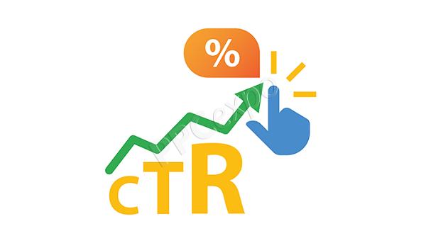 CTR là chỉ số đo lường tỷ lệ nhấp chuột.