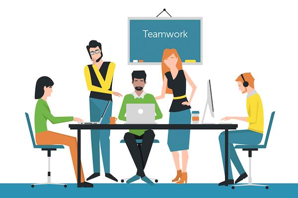Teamwork là kỹ năng đầu tiên cần có khi làm việc tại Digital Agency.