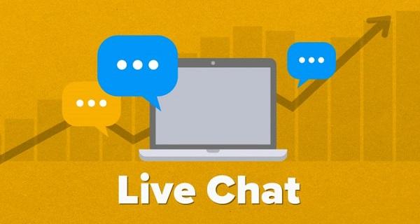 Live Chat giúp bạn tương tác trực tiếp với khách hàng.