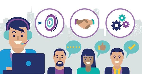Tương tác với khách hàng tốt giúp doanh nghiệp tăng khả năng cạnh tranh.
