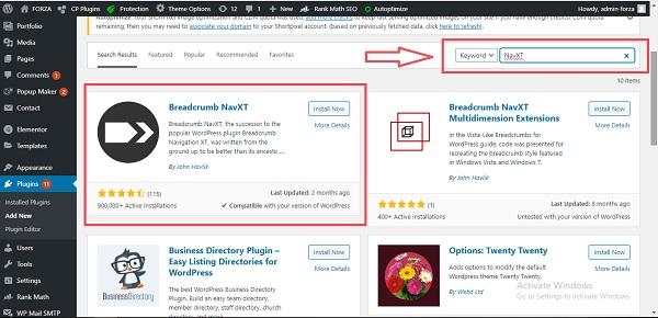 Thêm Breadcrumbs vào WordPress dễ dàng bằng Breadcrumbs NavXT.