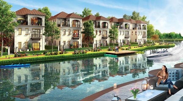 Dự án Aqua City tập trung vào đối tượng khách hàng thượng lưu