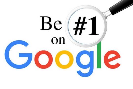 dua trang web len google 1 min