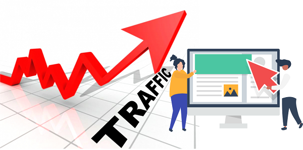 Website hoạt động hiệu quả hơn nhờ lượt traffic cao.
