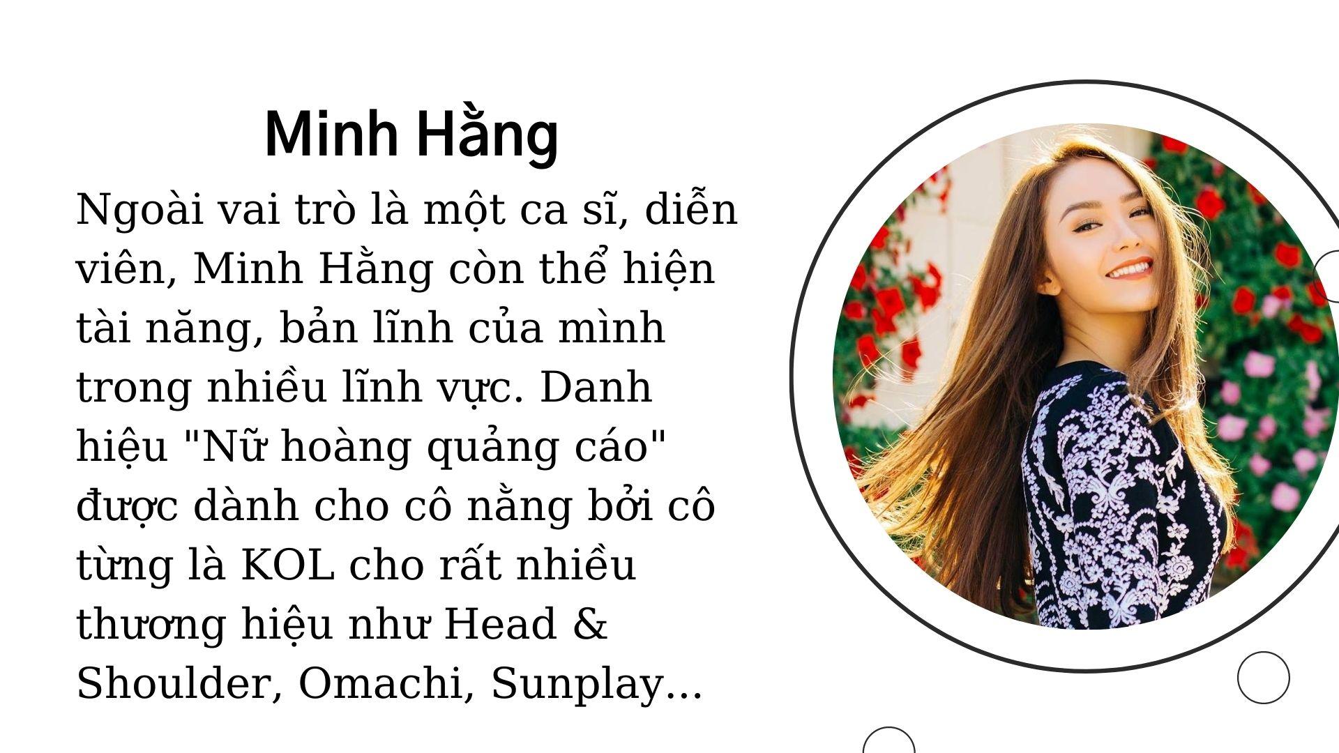 KOL Minh Hằng