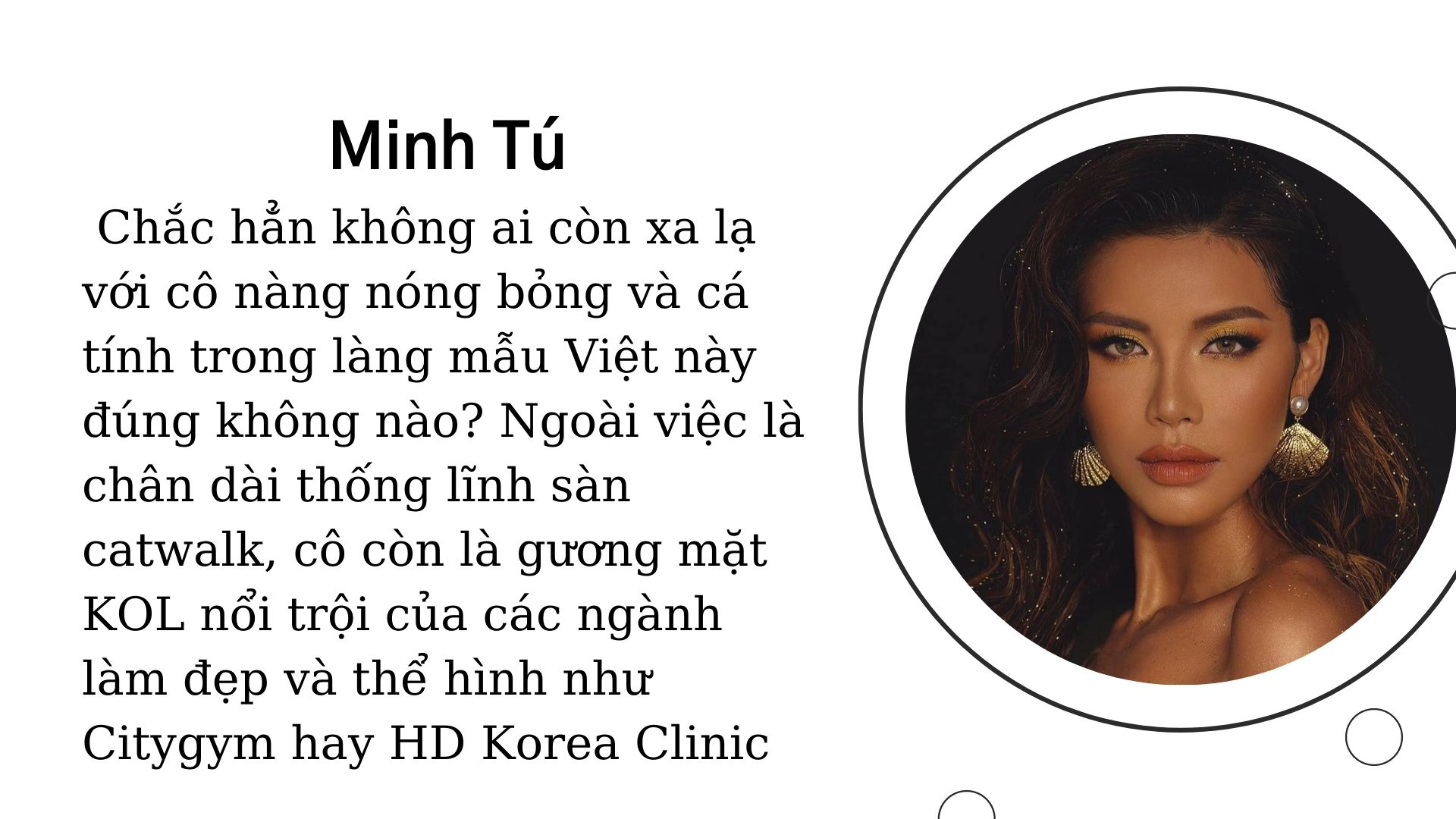 KOL Minh Tú
